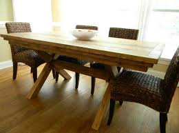 large farmhouse dining table legs : Stunning Farmhouse Dining Table Ideas   The Home Decor