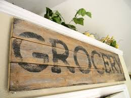 Country Kitchen Accessories Sign Wood Kitchen Wall Decor Country Chic Distressed Farmhouse