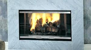 fireplace glass door cleaner wood burning fireplace glass doors majestic see thru designer installed parts craftsman