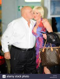 Dennis Hof and Cami Parker outside the ITV studios London, England ...