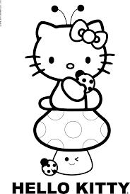 Il Meglio Di Disegni Da Colorare On Line Di Hello Kitty Coloring