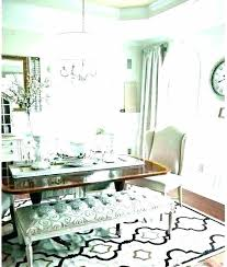dining tables dining table rugs rug under round carpet for dinning room full size of