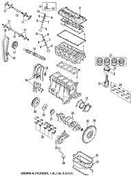 Genuine mazda cylinder block maz bp0110300n