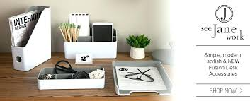 modern office desk accessories. Designer Desk Accessories Cute Office Modern L