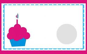 Blank Birthday Card Template Free Blank Greeting Cards