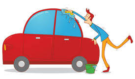 Image result for Clipart stick person washes car