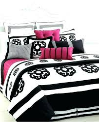 full size of black and white striped comforter twin target pink queen set bedding girls love