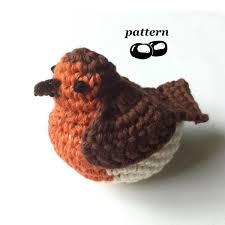 Crochet Decoration Patterns Robin Crochet Pattern Crochet Bird Pattern Crochet