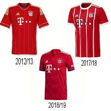 Adidas fc bayern munich munchen soccer football jersey shirt kit men s fifa 2013. Looking Back At The Bayern Munich Kits Soccer Box Blog Bayern Munich Bayern Munich Shirt Bayern