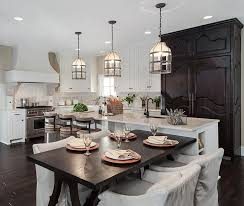 glamorous pendant lights over island kitchen images with