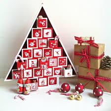 tree wooden advent calendar decoration ideas