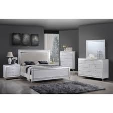 white bedroom furniture. Wonderful Bedroom Panel 4 Piece Bedroom Set By Best Quality Furniture On White C