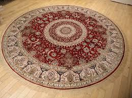 persian 8 round rugs