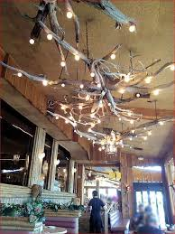 driftwood lighting. interesting driftwood lighting fixtures on porch w
