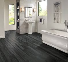 Vinyl Bathroom Floors Armstrong Luxury Vinyl Plank Flooring Lvp Black Wood Look