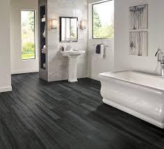 armstrong luxury vinyl plank flooring lvp black wood look bathroom ideas