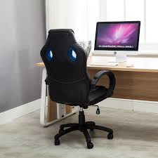 high office desk. High Back Race Car Style Bucket Seat Office Desk Chair Gaming With Regard To And