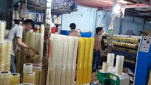 xưởng sản xuất băng keo - công ty cung cấp xưởng sản xuất băng keo