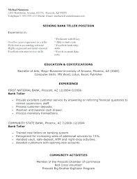Cover Letter For Bank Teller Position Best Ideas Of Cover Letter