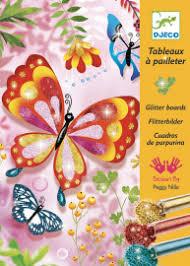 Игрознайка - Раскраска <b>Блестящие</b> бабочки <b>Djeco DJECO</b> 09503