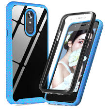 Lg Stylo 4 Light Up Case Lg Stylo 4 Case Lg Q Stylus Case Lg Stylo 4 Plus Lg Stylus 4 Case Built In Screen Protector Leyi Full Body Rugged Bumper Clear Transparent