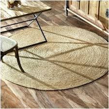 4 round jute rug natural fiber braided reversible 6 ping great deals on oval square