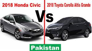 2018 toyota grande. plain toyota 2018 honda civic vs toyota corolla altis grande  pakistan on toyota grande o