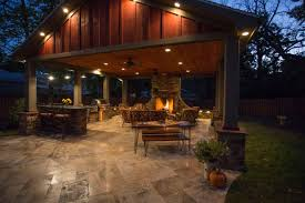 gallery outdoor kitchen lighting:  a