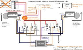 4 relay power window car power window wiring diagram at Gm Window Switch Wiring Diagram