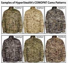 Different Camo Patterns