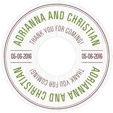 Wedding Cd Labels Woodland Personalized Wedding Cd Labels 6 Pcs Musical Theme