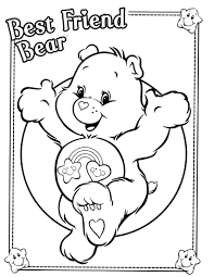 Small Picture care bears coloring page Care Bear Themed Party Pinterest