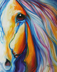 horse painting majestic equine 2016 by marcia baldwin