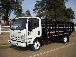 2014 Isuzu Npr Hd Morgan Corp Flatbed Trucks Used Trucks For Sale Used Trucks