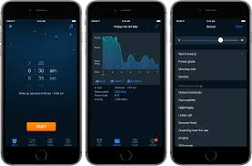 sleep cycle alarm clock is one of the most comprehensive apps in the field posing an effective merger of alarm clock and sleep tracker