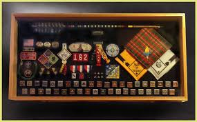 eagle scouts boy scouts and girl scouts shadow box and display cases