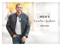 men s leather jackets now