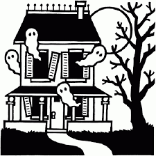 Small Picture halloween colouring page haunted house colouring page 20 awesome