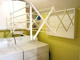wall mount laundry rack metal drying rack laundry wall mount metal