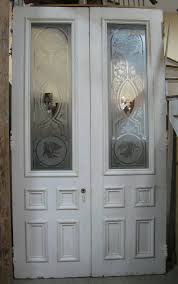 antique etched gl doors furniture swinging image and candle victimassist