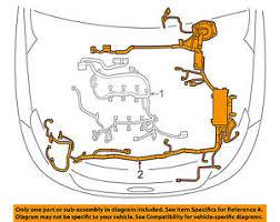 ford oem 14 15 explorer 2 0l l4 wiring harness wire harness image is loading ford oem 14 15 explorer 2 0l l4