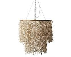 coco bead winter white 2 tier chandelier lighting weylandts south africa will 2