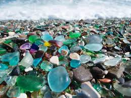 extraordinary beach sea glass