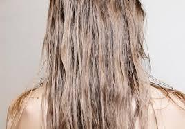 get rid of hair that always feels greasy