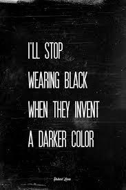 Bildresultat för johnny cash citat i wear black til i find some darker