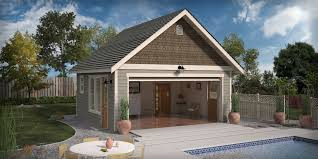 pool house plans with garage. Garage Pool House Plans Cgarchitect Professional 3d With O
