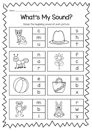 Sounds and phonics worksheets for preschool and kindergarten, including beginning sounds, consonants, vowels and rhyming. Beginning Sounds Printable Worksheet Pack Kindergarten Phonics Kindergarten Phonics Worksheets Beginning Sounds Worksheets Phonics Worksheets