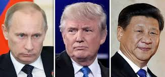 Image result for Путин, Трамп  и Си фото