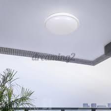 Đèn Led Tròn Năng Lượng Mặt Trời 15w / 25w Gắn Trần Nhà