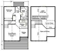 >house plans with loft 1000 images about not so fascinating small house plans with loft